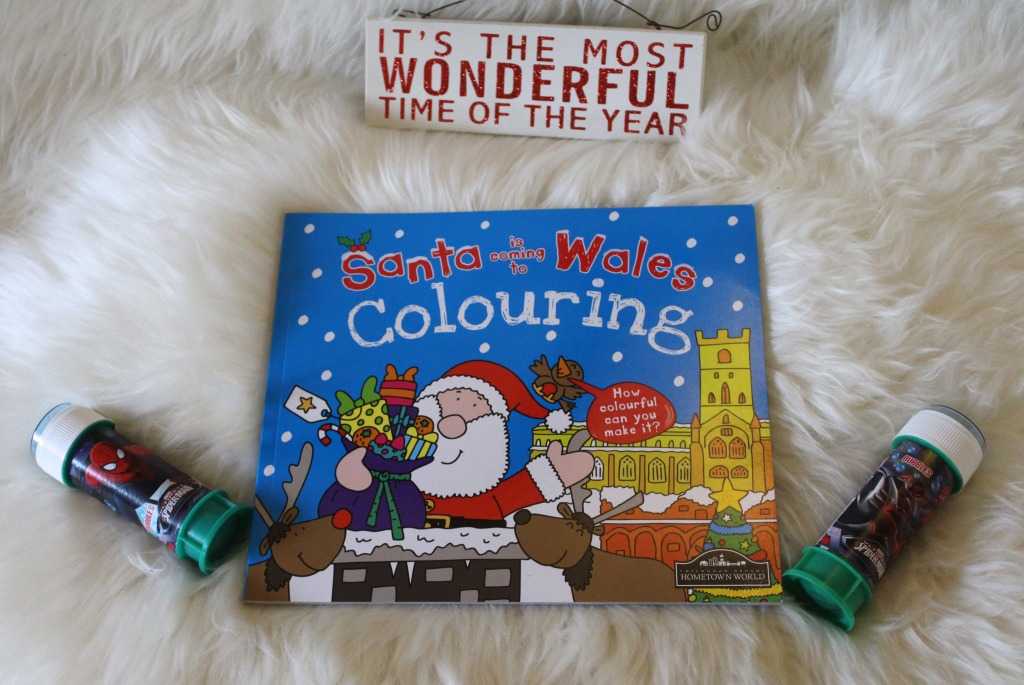 Santa Colouring Book