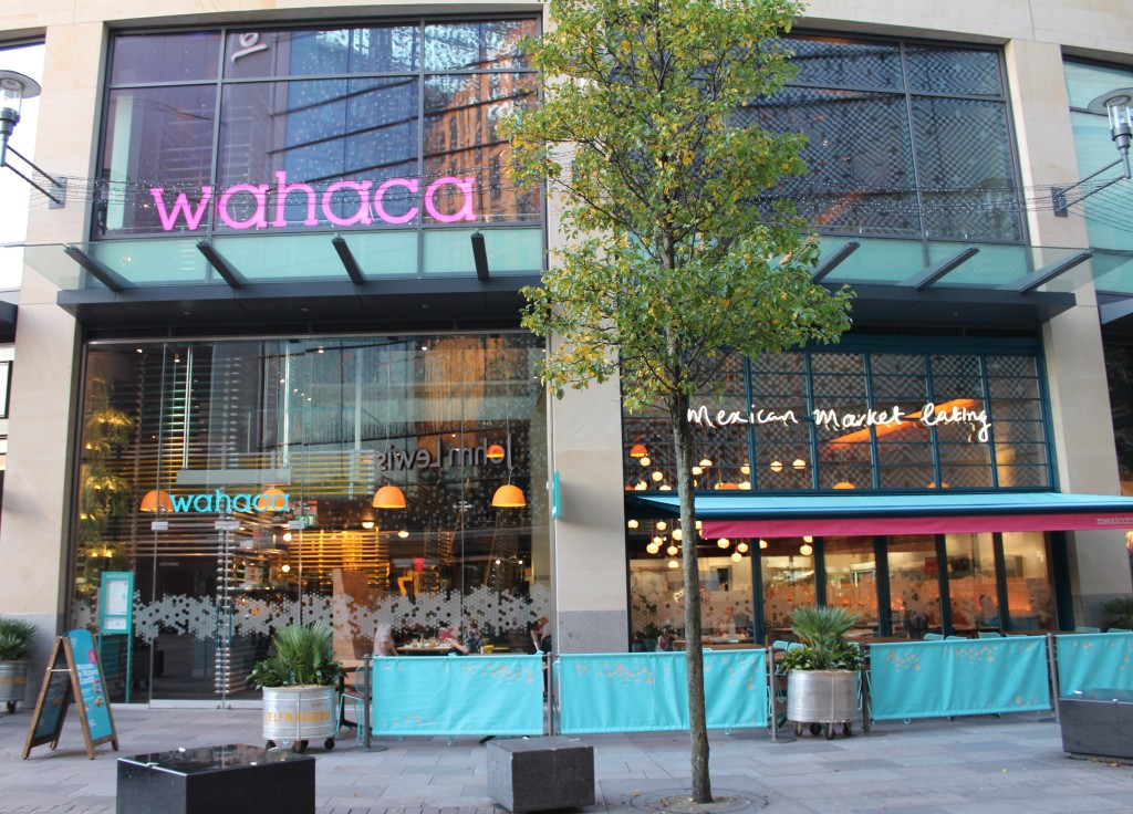 Wahaca cardiff alice in a looking glass - Wahaca shipping container restaurant ...