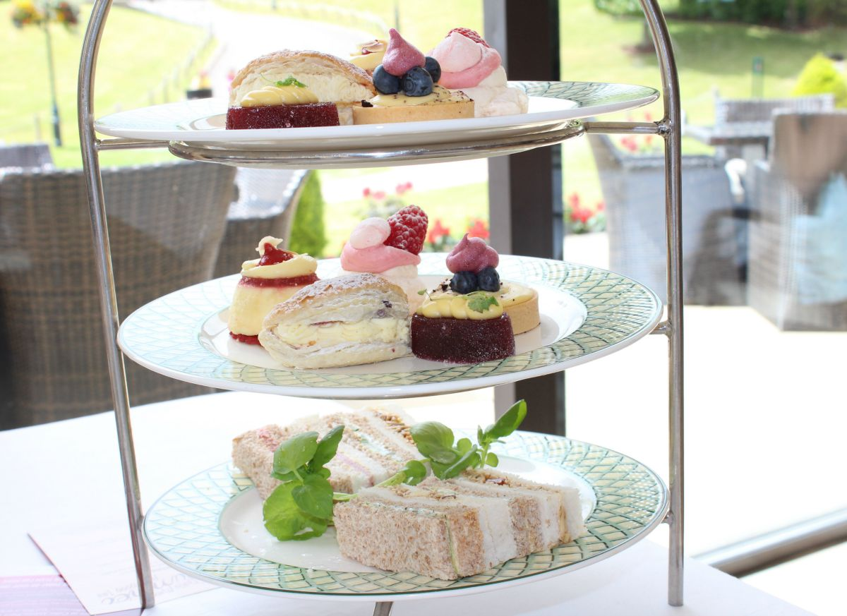 Celtic Manor Resort Afternoon Tea