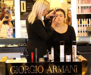 Giorgio Armani Cardiff Beauty Bloggers Event